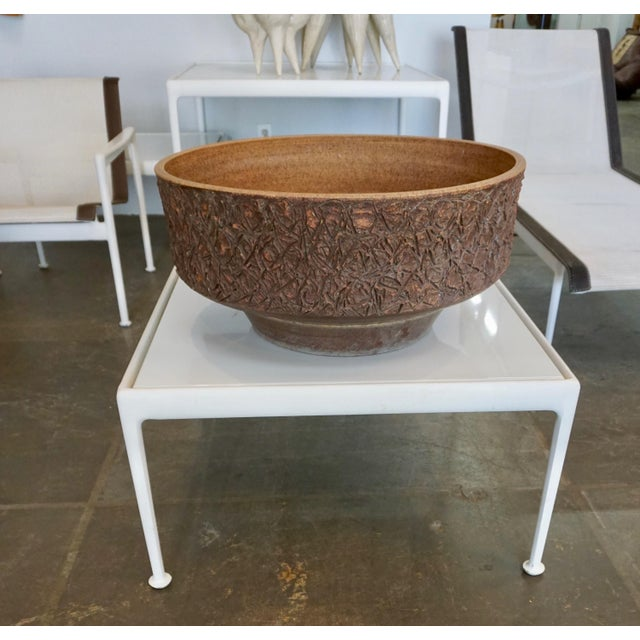 1960s Ceramic Planter by Raul Coronel For Sale - Image 5 of 7