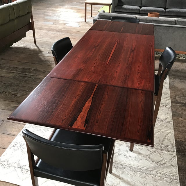 H. W. Klein for Bramin Danish Rosewood Dining Set - Set of 5 - Image 7 of 11
