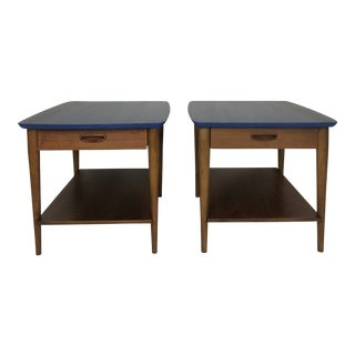 Lane Furniture Company McM, Mid Century Modern Side Tables- a Pair For Sale