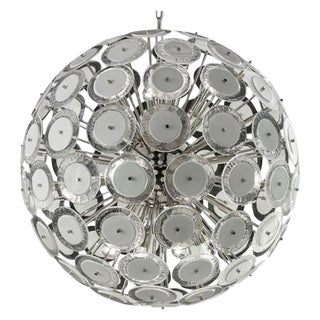 Disc Chandelier by Fabio Ltd For Sale