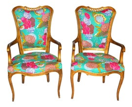 Image of Tribal Corner Chairs