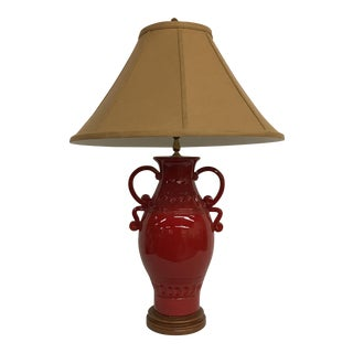 Vietri Italian Red Pottery Lamp