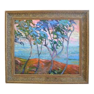 Juan Guzman Camarillo Seascape Landscape Oil Painting For Sale