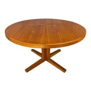 Danish Oval Dining Table by John Mortensen for Heltborg Møbler For Sale
