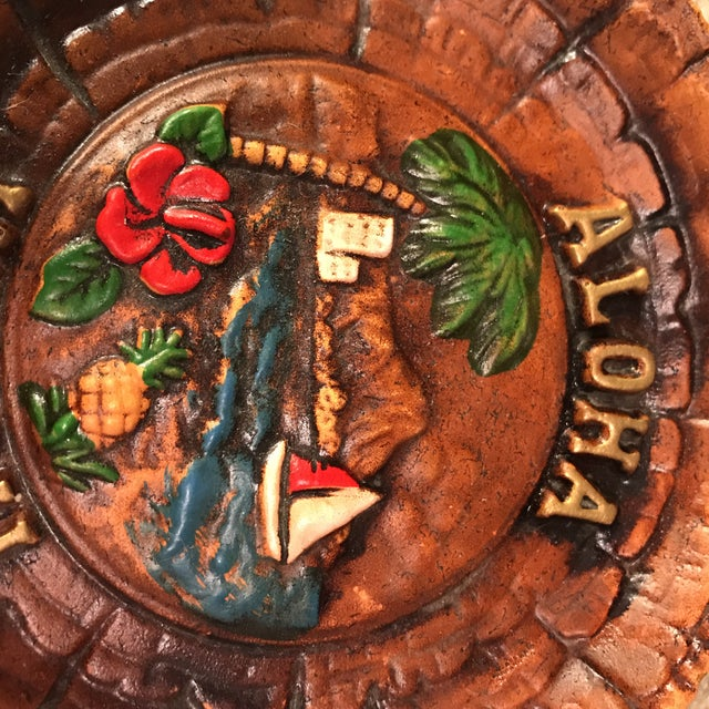 Vintage Aloha Hawaii Ashtray For Sale In Charlotte - Image 6 of 8