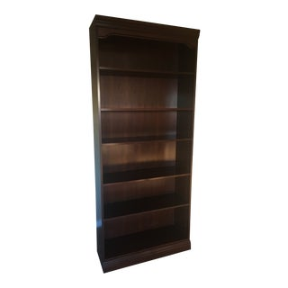 Traditional Style Solid Wood Book Shelf For Sale