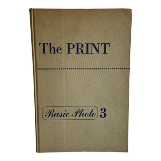 1950s The Print Basic Photo Book by Ansel Adams For Sale