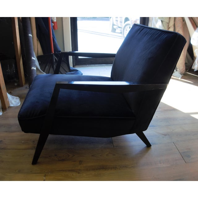Ponti Era Fireside Low Slipper Chairs - A Pair For Sale - Image 10 of 11