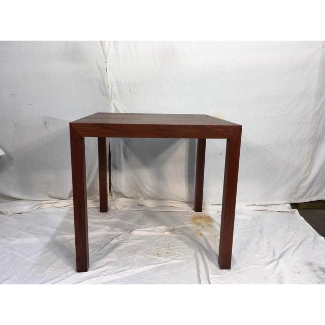 Edward Wormley Walnut Side Table - Image 11 of 11