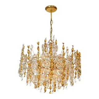 Palwa Tendril Ribbon Chandelier For Sale