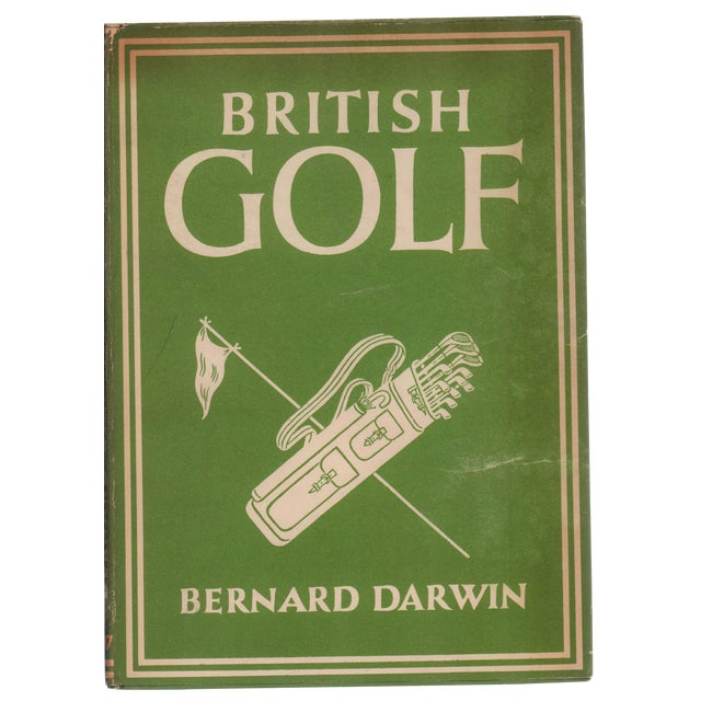"1946 ""British Golf"" Collectible Book For Sale"
