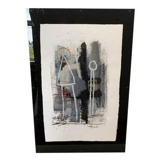 Contemporary Todd Alexander on Panel With Plexi For Sale