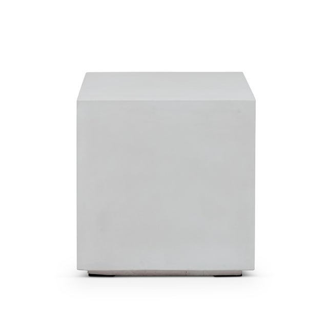 2010s Robert End Table, Ivory For Sale - Image 5 of 5