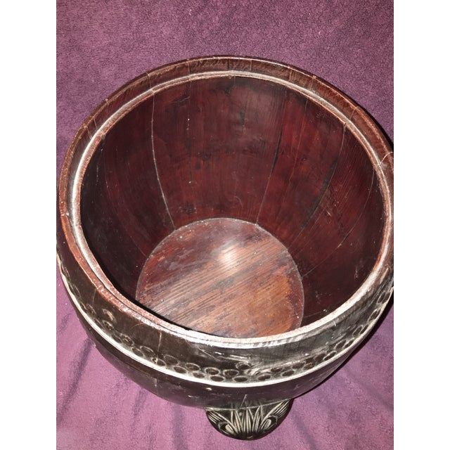 Antique Chinese Rice Barrel For Sale - Image 5 of 7