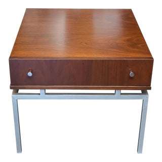 Single Drawer End Table by American of Martinsville For Sale