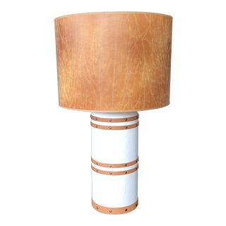 Boho Chic Style Jamie Young Barrel Lamp