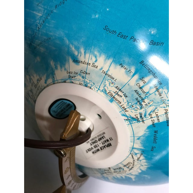 Vintage Late 20th Century Globe Light For Sale - Image 9 of 10