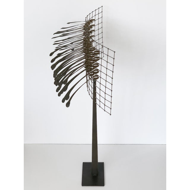 1980s Christoph Bollinger Abstract Kinetic Sculpture For Sale - Image 5 of 13