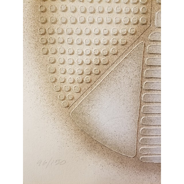 """Peace Art"" Acrylic Stencil Casting Print - Image 6 of 11"