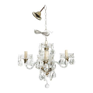 Late 19th Century Antique Murano Glass Chandelier For Sale