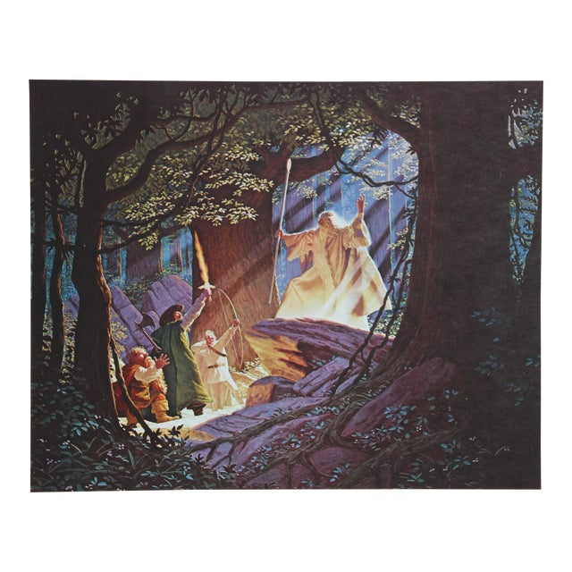 Brothers Hildebrandt, Gandalf the White, Lithograph For Sale