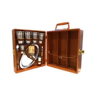Vintage Original Mid Century Trav-L-Bar Case Set For Sale