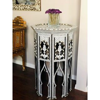 Moorish Style Mother of Pearl Inlay Syrian Side Table Preview