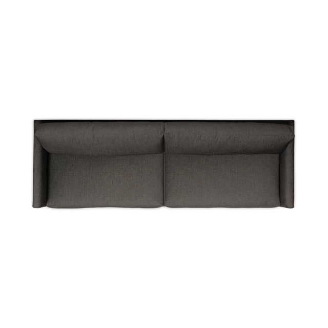 Not Yet Made - Made To Order Moss Home Linda Sofa Crypton Granbury Graphite For Sale - Image 5 of 7