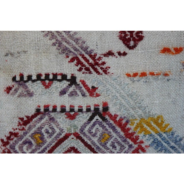 Turkish Handmade Kilim Pillow Cover - Image 3 of 11
