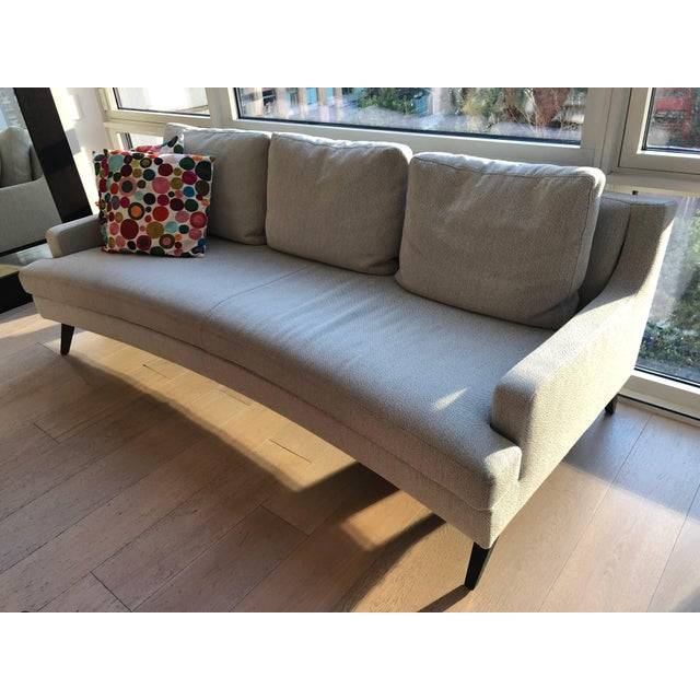 Ligne Roset Belem Sofa with matching cushions Large Sette - Elegant lines with a contemporary edge: these characteristics...