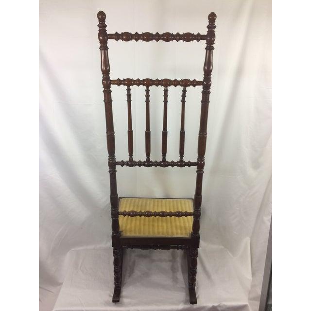 Napoleon III High Back Spindle Chair - Image 3 of 8