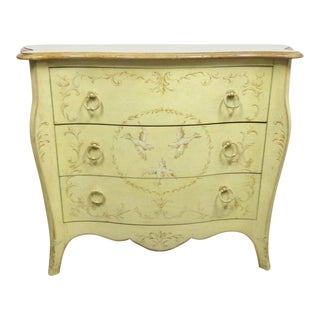 Drexel French Style Decorated Commode For Sale