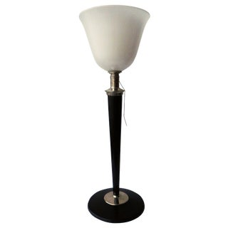 Mazda French Torchiere Table Lamp For Sale