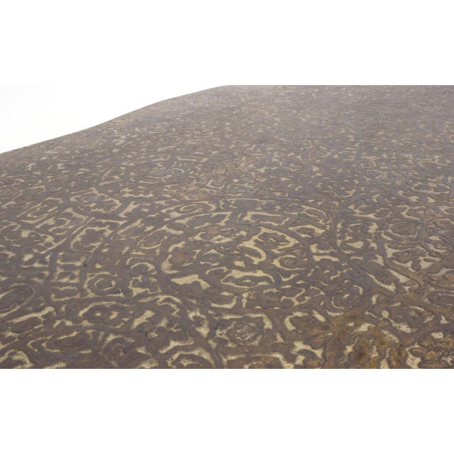 Bronze Coffee Table by Philip and Kelvin LaVerne For Sale In Kansas City - Image 6 of 10