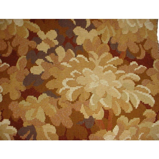 Kravet Couture Red Tree Branch Floral Tapestry Upholstery Fabric- 12-7/8 Yards For Sale