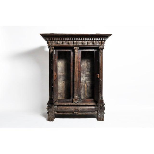 Impressive Renaissance Revival Armoire For Sale - Image 4 of 13