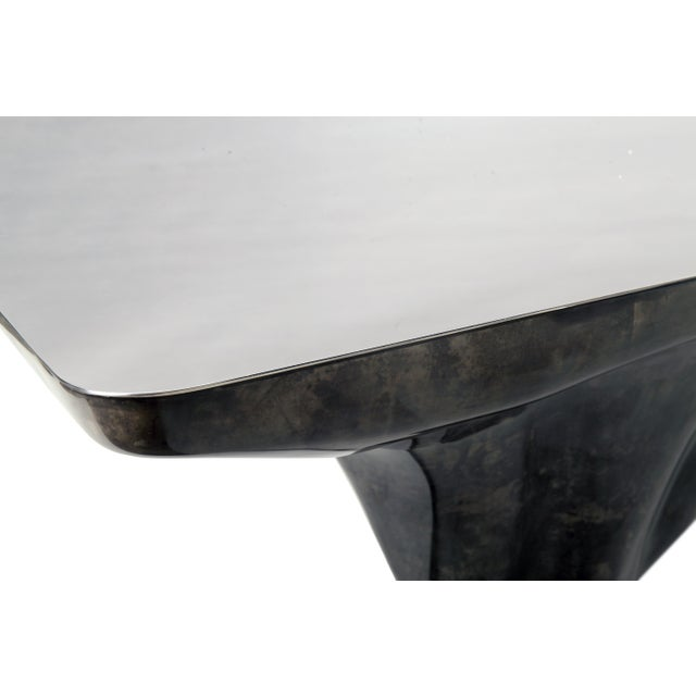Not Yet Made - Made To Order Arctic Dining Table For Sale - Image 5 of 8