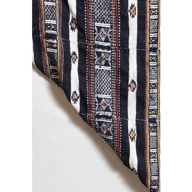 Textile Arkilla Kerka Fulani Wedding Blanket For Sale - Image 7 of 8