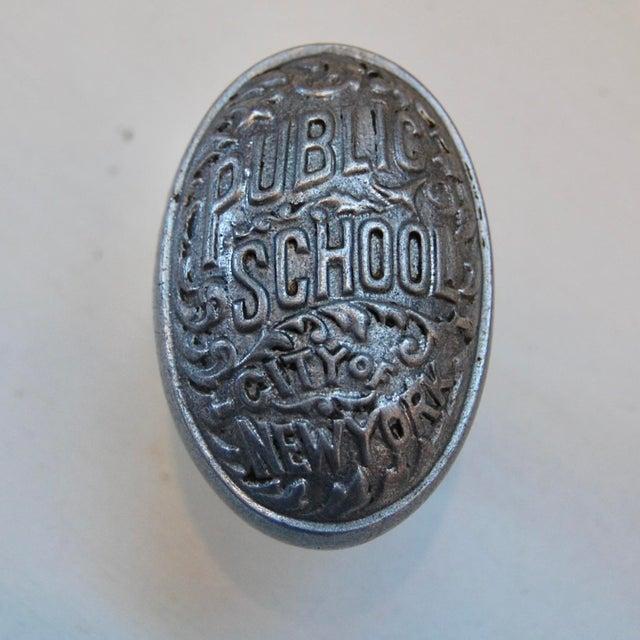 Art Deco Public School, City of New York Door Knob For Sale - Image 9 of 9