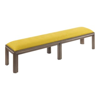 Presidio Bench - Large in Chartreuse For Sale