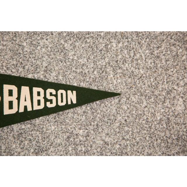 Massachusetts Babson Institute Felt Flag - Image 3 of 3