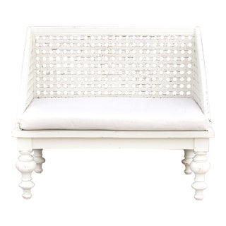 Jali Heritage Lounge Bench For Sale