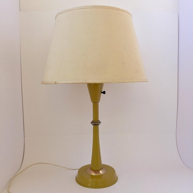 Gerald Thurston Table Lamp in Mustard - Image 2 of 9