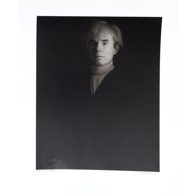Andy Warhol, Photo Portrait by Curtis Knapp For Sale - Image 4 of 4