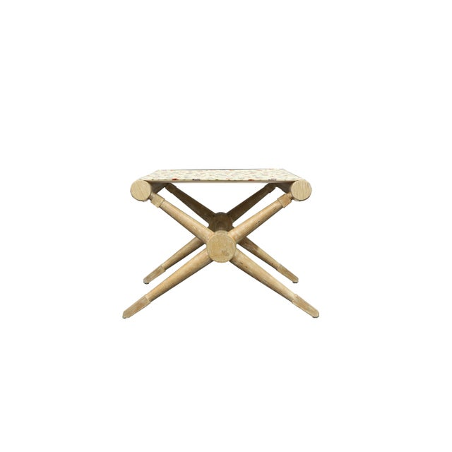 Late 20th Century Cerus Finishing Stool For Sale In New York - Image 6 of 6