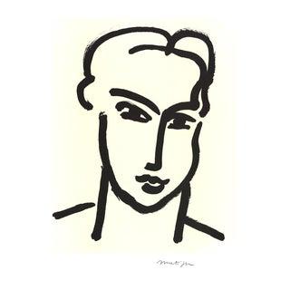 Henri Matisse, Grande Tete De Katia, Offset Lithograph For Sale