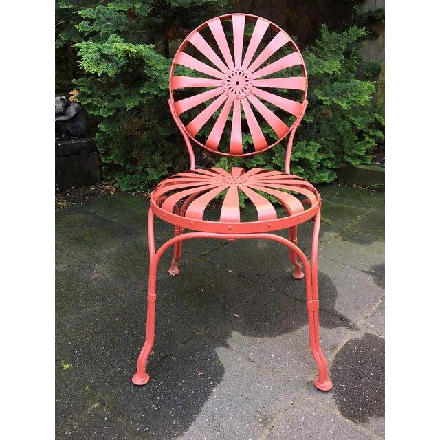 Modern Francois Carré Sunburst Patio Furniture For Sale - Image 3 of 13