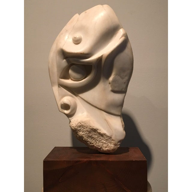 [unattributed] United States Moses, ca.1940 Hand-carved marble 14 x 8 x 4 inches Signed?