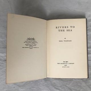"""Rivers to the Sea"" 1926 First Edition Book Preview"