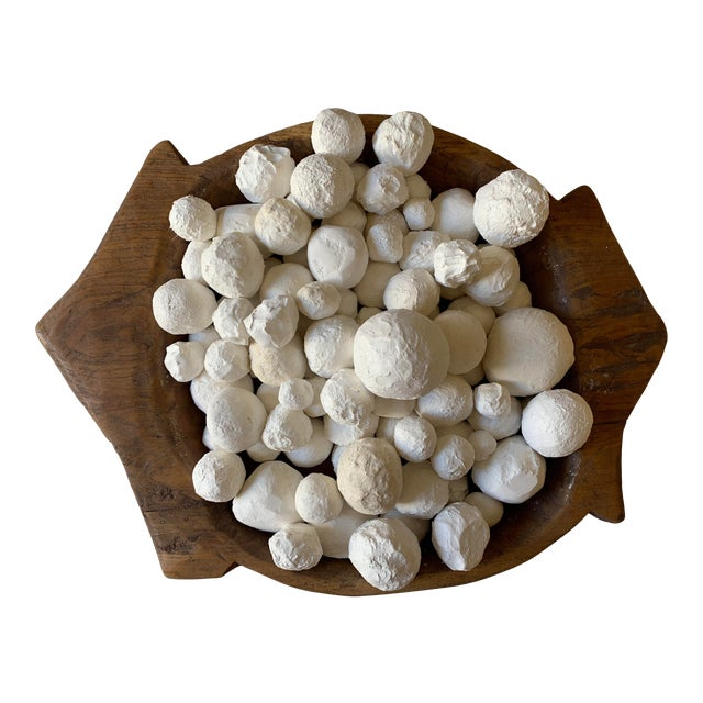 Our handmade white raw/organic texture plaster decorative balls in various round shapes and sizes are a great and unique...